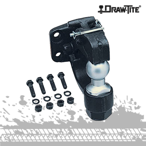 draw-tite pintle hook with hitch ball