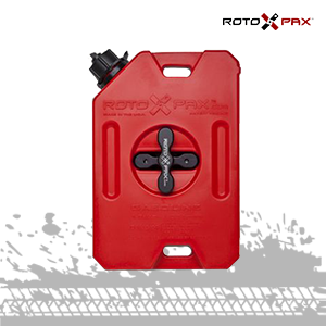 rotopax red gasoline container