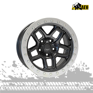 aev borah dualsport onyx mag wheels for jeep wrangler jk