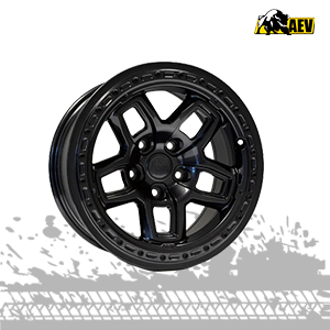 aev borah dualsport galaxy black wheels for jeep wrangler jk