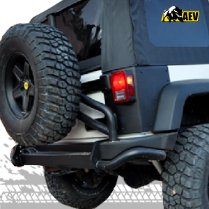 AEV JK REAR CORNER GUARDS, JEEP WRANGLER JK