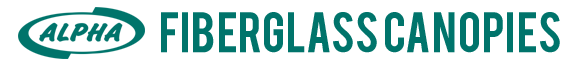 Alpha Fibeergglass Canopies Logo